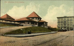 The Brockton Railroad Station