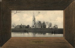Chapel and Pond, M.A.C.