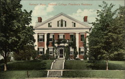 President's Residence at Amherst College