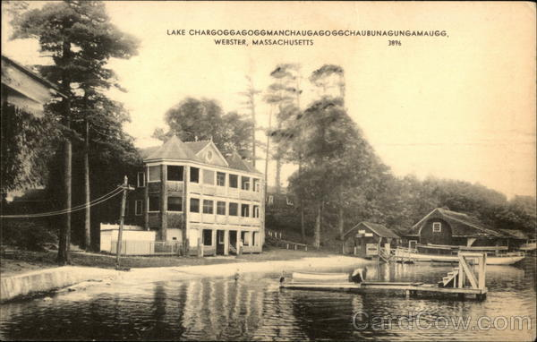 Lake Chargoggagoggmanchaugagoggchaubunagungamaugg Webster Massachusetts