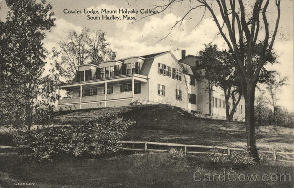 Cowles Lodge, Mount Holyoke College South Hadley Massachusetts