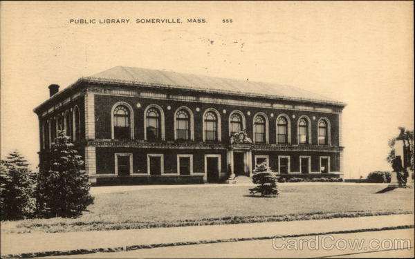 Public Library Somerville Massachusetts