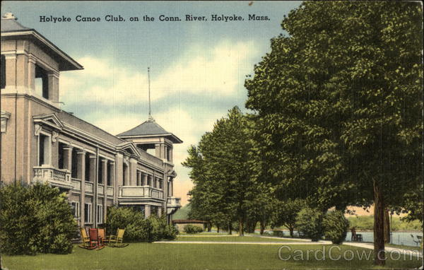 Holyoke Canoe Club on the Connecticut River Massachusetts
