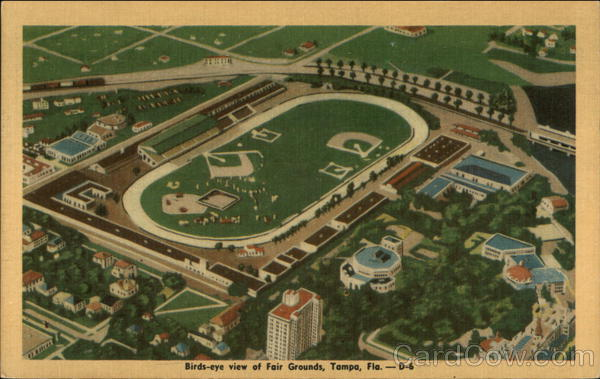 Birds-eye View of Fair Grounds Tampa Florida