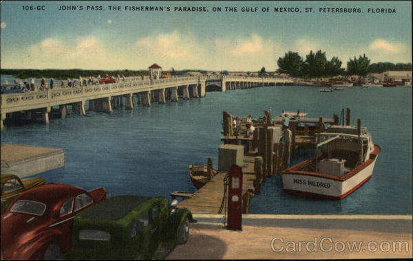 John's Pass St. Petersburg Florida