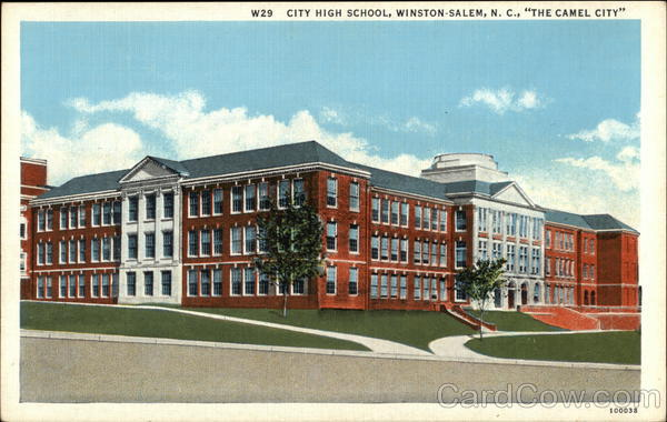 City High School Winston-Salem North Carolina