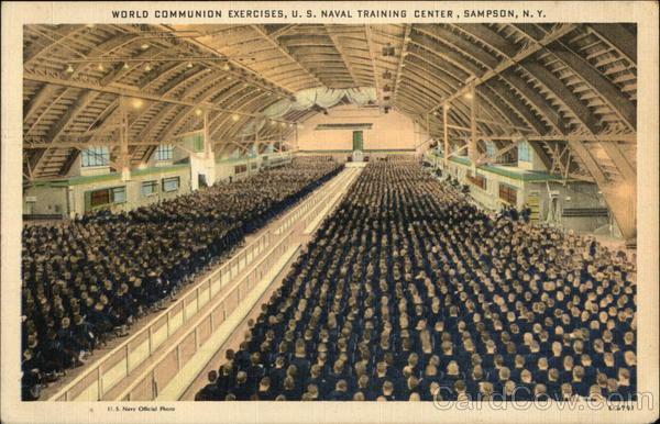 World Communion Exercises, U.S. Naval Training Center Sampson New York