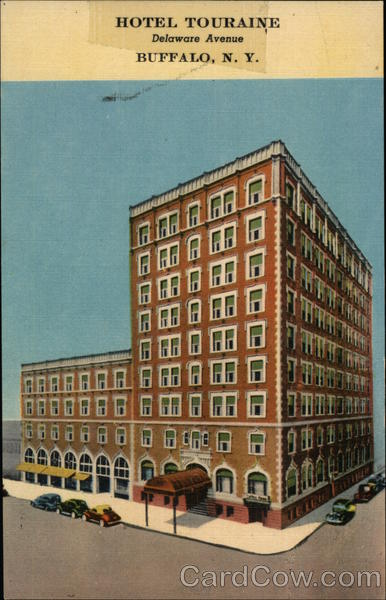 Hotel Touraine Buffalo New York