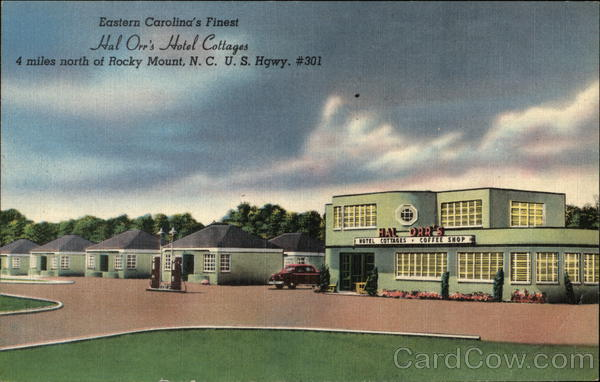 Hal Orr's Hotel Cottages Rocky Mount North Carolina