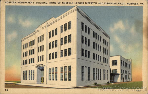 Norfolk Newspaper's Building Virginia