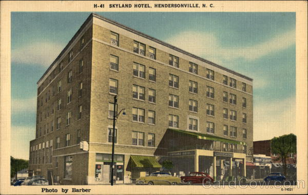 Skyland Hotel Hendersonville, NC