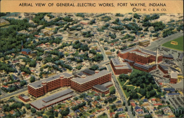 General Electric Works Fort Wayne Indiana
