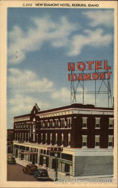 New Idamont Hotel Rexburg Idaho Cecil Nixon