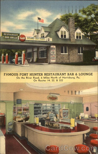 Famous Fort Hunter Restaurant Bar &Lounge Harrisburg Pennsylvania