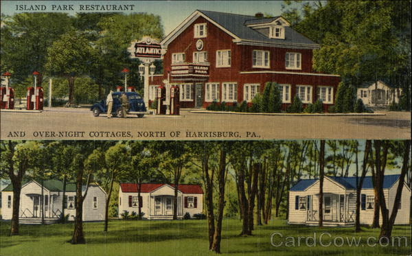 Island Park Restaurant and Over-Night Cottages Harrisburg Pennsylvania
