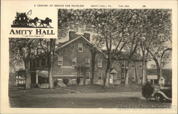 A Century of Service For Travelers - The Inn Amity Hall Pennsylvania
