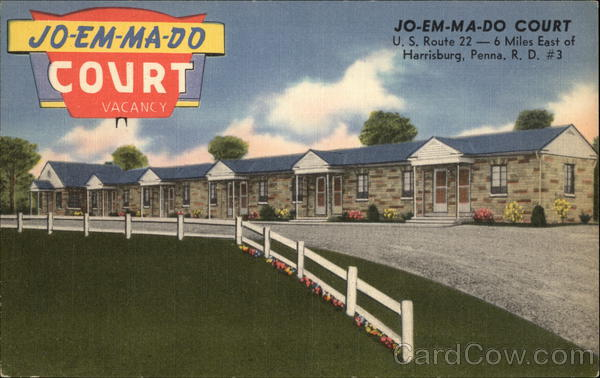 Jo-Em-Ma-Do Court Harrisburg Pennsylvania James E. Hess