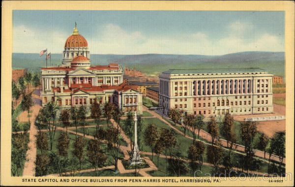 State Capitol and Office Building Harrisburg Pennsylvania