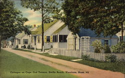 Cottages on Cape Cod Terrace, Swifts Beach