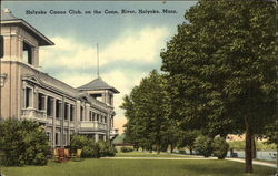 Holyoke Canoe Club on the Connecticut River