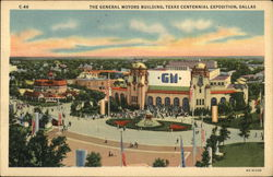 The General Motors Building, Texas Centennial Exposition, Dallas , TX