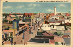 The Midway, Texas Centennial Exposition