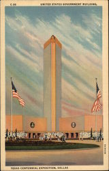 United States Government Building, Texas Centennial Exposition