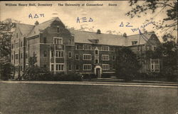 William Henry Hall, Dormitory, The University of Connecticut