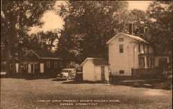 View of Girls' Friendly Society House Postcard