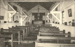The Girls Friendly Holiday House Chapel Postcard