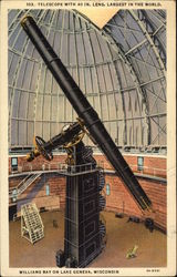 Telescope with 40 In. Lens