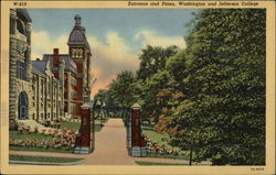 Entrance and Plaza, Washington and Jefferson College