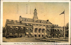 The Molly Pitcher Hotel (On The Shrewsbury) Postcard