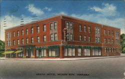 Arrow Hotel Postcard