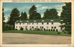 Roadman Dormitory for Boys, Crossnore School Inc.