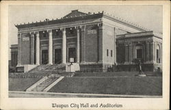City Hall and Auditorium