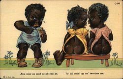 Three Black Children
