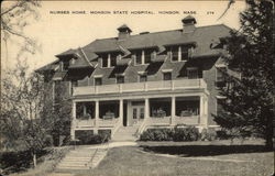 Nurses Home, Monson State Hospital