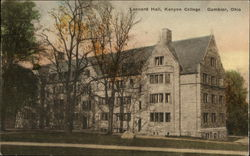 Leonard Hall, Kenyon College