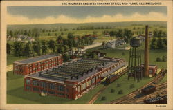McCaskey Register Company Office and Plant Postcard