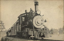 Edaville Passenger Train Postcard