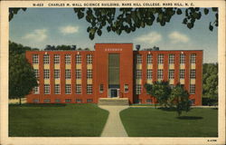 Charles M. Wall Science Building, Mars Hill College