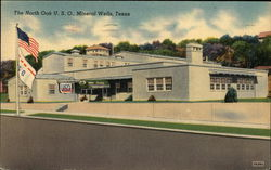 The North Oak U.S.O. Postcard