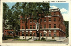 YMCA and Elk's Club Postcard