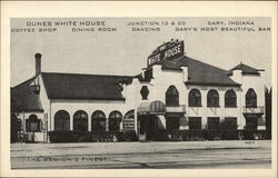 Dunes White House Postcard