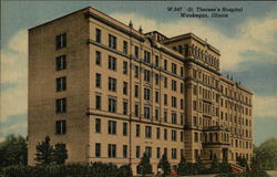 St. Therese's Hospital Postcard