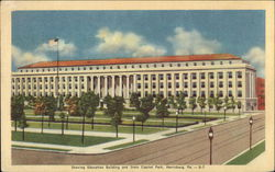 Education Building and State Capitol Park