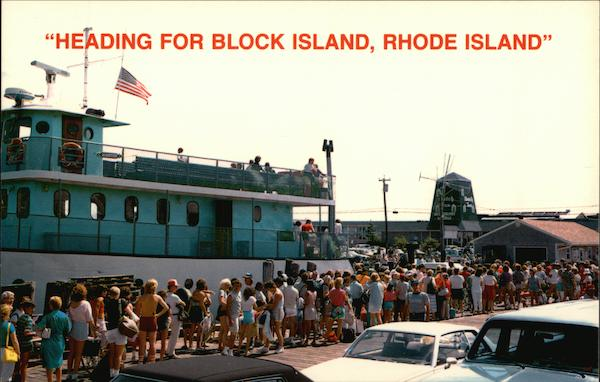 Heading for Block Island, Rhode Island Leon Kowai