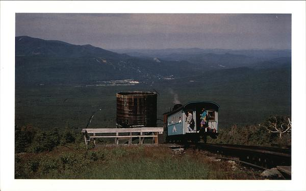 Walmbek Tank, Mount Washington Cog Railway Franconia New Hampshire