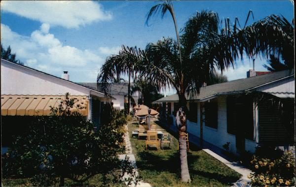 Rankin's Motel Apartments on Treasure Island St. Petersburg Florida